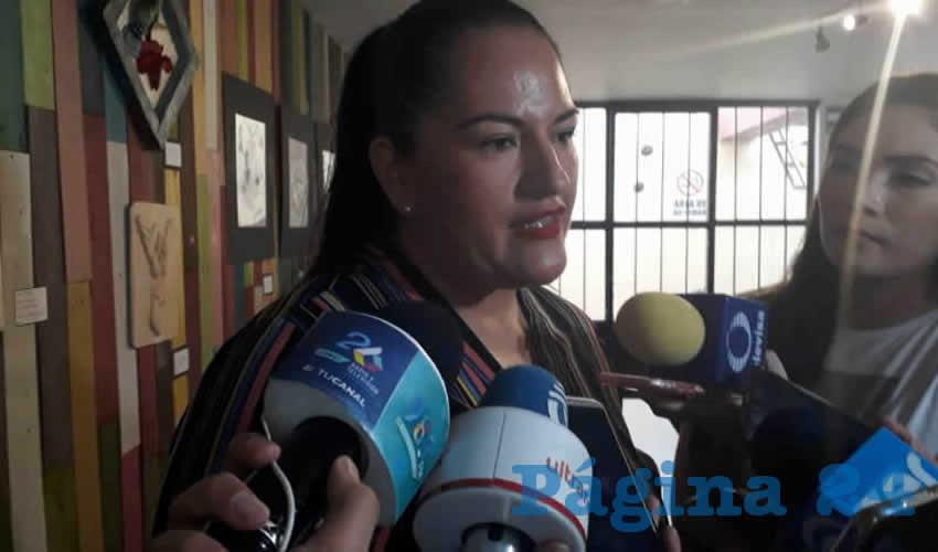 Alma Judith Vázquez Cervantes, síndico municipal de Cosío (Foto: Erick Ramírez)