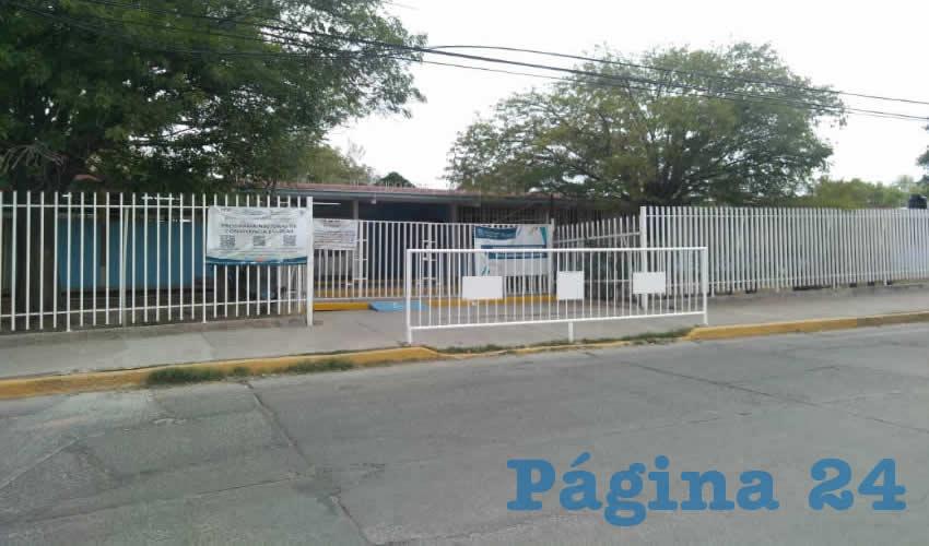Escuela Primaria Edmundo Gámez Orozco (Foto: Eddylberto Luévano Santillán)