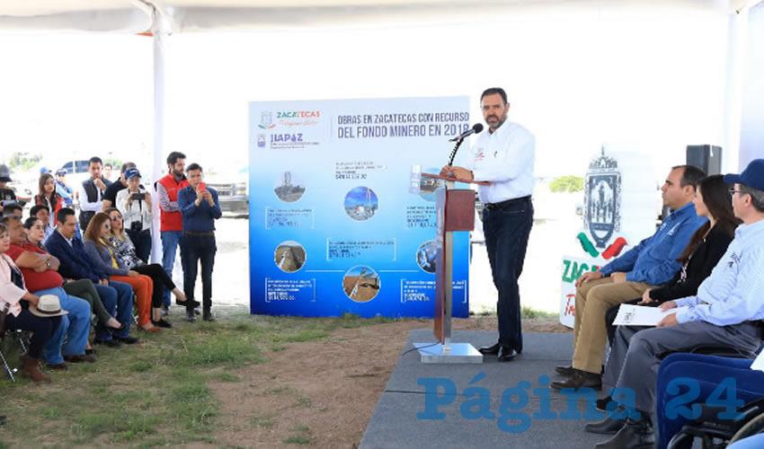 El Gobernador Alejandro Tello inauguró el Pozo 9 del Sistema Benito Juárez de Jiapaz, que aportará 3.3 millones de litros diarios para 128 mil habitantes