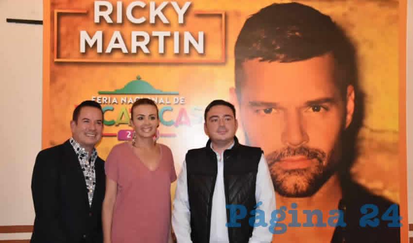 ¡Ricky Martin en Zacatecas!
