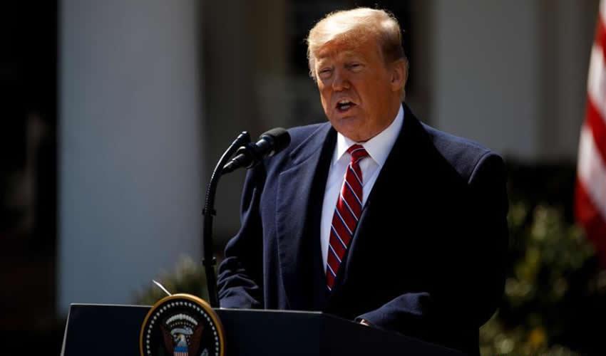 Donald Trump, presidente saliente de los Estados Unidos de América (Foto: Archivo/Xinhua)