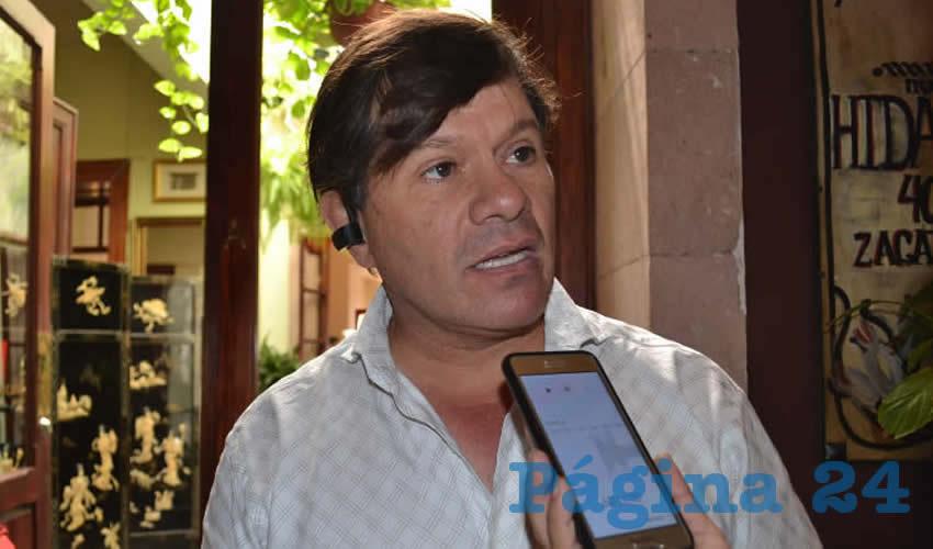 Casas Soto Destaca la Necesitad de Atraer a más Turistas a la Entidad Zacatecana