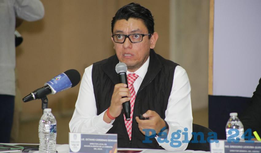 Octavio Cárdenas Denham, delegado estatal de la Conagua