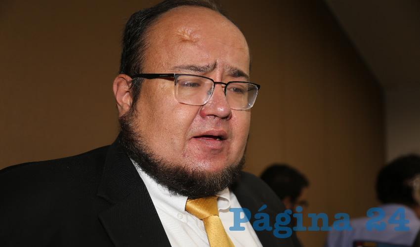 Óscar Salvador Estrada Escobedo, regidor del Ayuntamiento de Aguascalientes (Foto: Archivo)