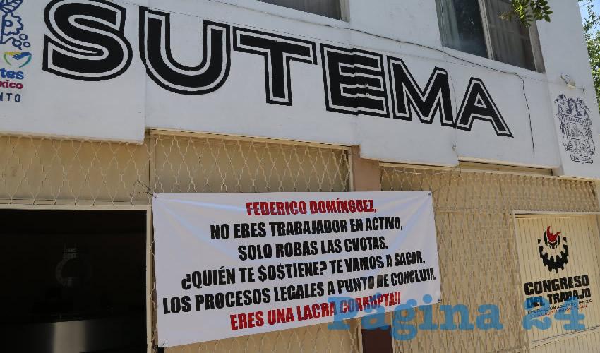 Sindicato Único de Trabajadores del Estado y Municipios de Aguascalientes (Foto: Eddylberto Luévano Santillán)
