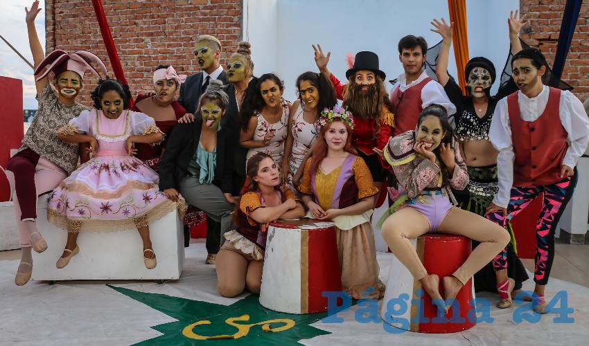 Estudiantes de la Licenciatura en Artes Escénicas de la UAA Concluyen sus Estudios con Obra de Teatro