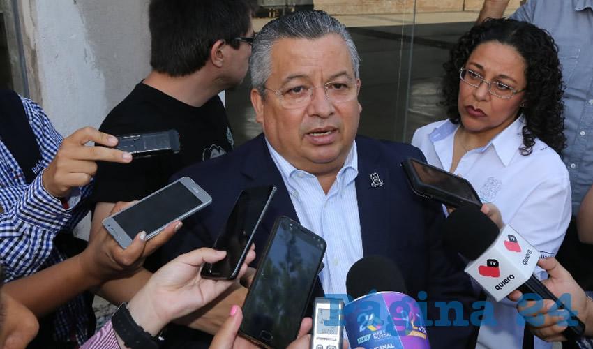 Enrique Morán Faz, secretario general de Gobierno (Foto: Eddylberto Luévano Santillán)