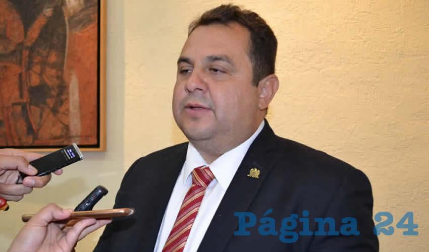 Antonio Guzmán Fernández (Foto Merari Martínez)
