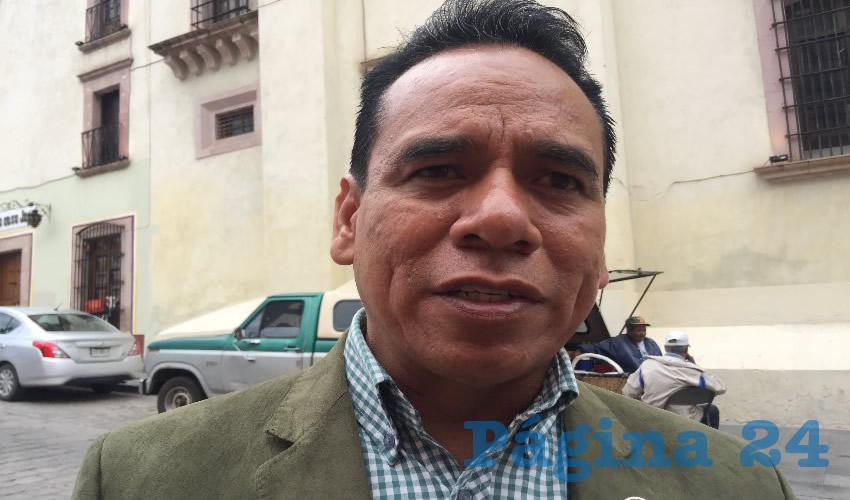 José Juan Mendoza Maldonado (Foto: Cristo González)