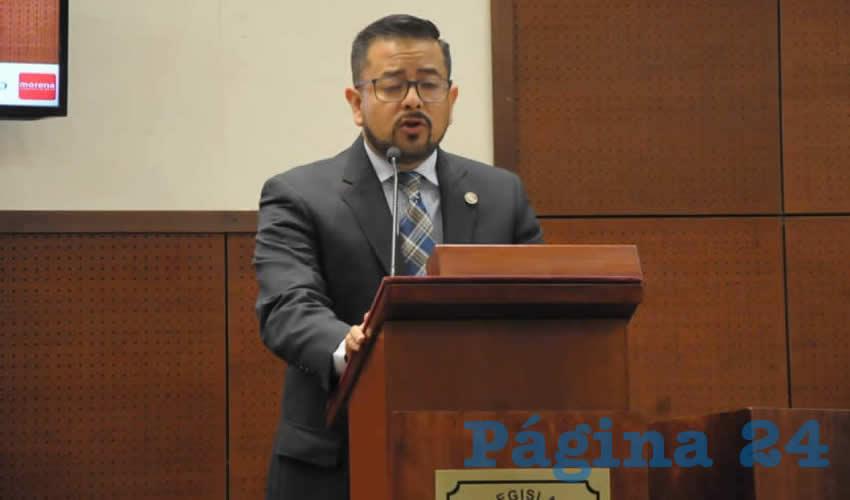 Héctor Adrian Menchaca Medrano, diputado local por Morena