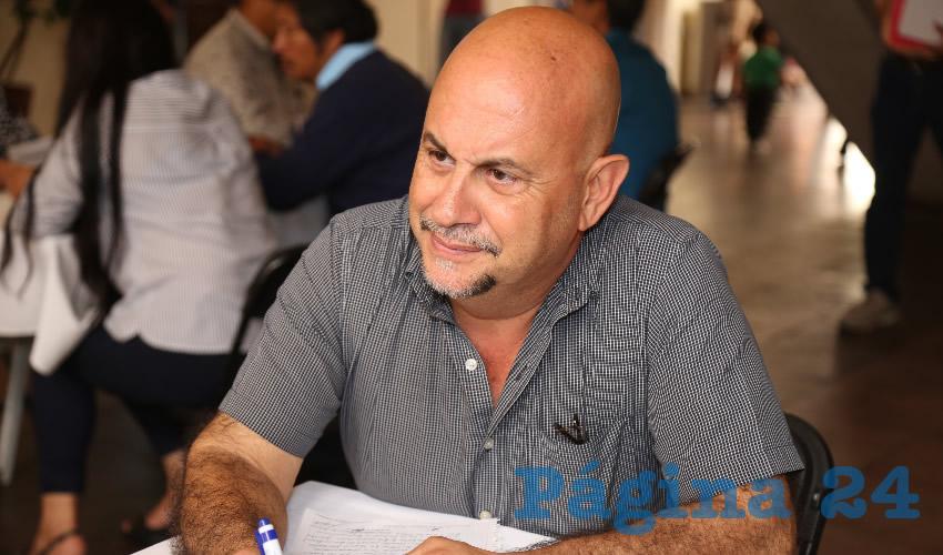 Claudio Arturo González Muñoz, secretario de Servicios Públicos (Foto: Eddylberto Luévano Santillán)