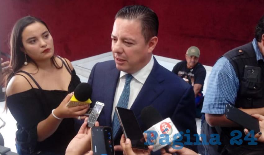 Raúl Brito Berúmen, titular de la Auditoria Superior del Estado (ASE) (Foto Cortesía)