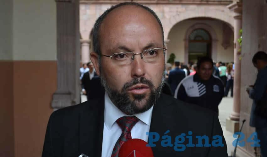 Everardo Martínez Aguayo, comisionado ejecutivo de Atención Integral a Víctimas (Foto Merari Martínez)