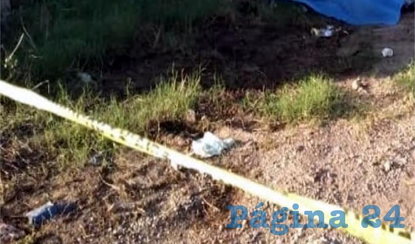 Así encontraron el cuerpo en La Zacatecana