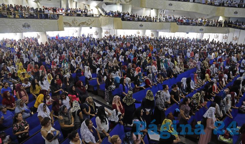 Crece número de fieles  de La Luz del Mundo