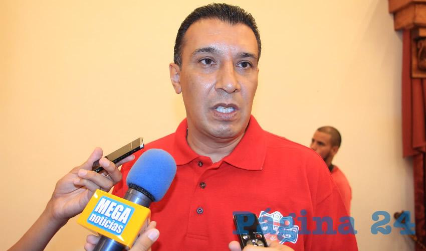 Adolfo Márquez Vera, titular del Instituto de Cultura Física y Deporte del Estado de Zacatecas (Incufidez) (Foto Archivo Página 24)