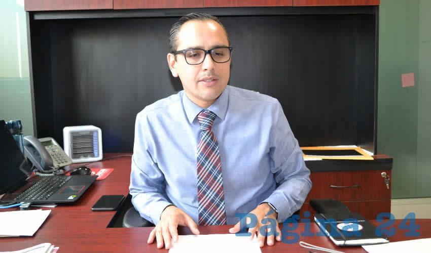 Salvador Villa Almaraz, fiscal especializado en Combate a la Corrupción (Foto: Merari Martínez)
