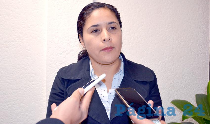 Alma Gloria Dávila Luévano, diputada local por Movimiento Regeneración Nacional (Morena) (Foto Merari Martínez Castro)