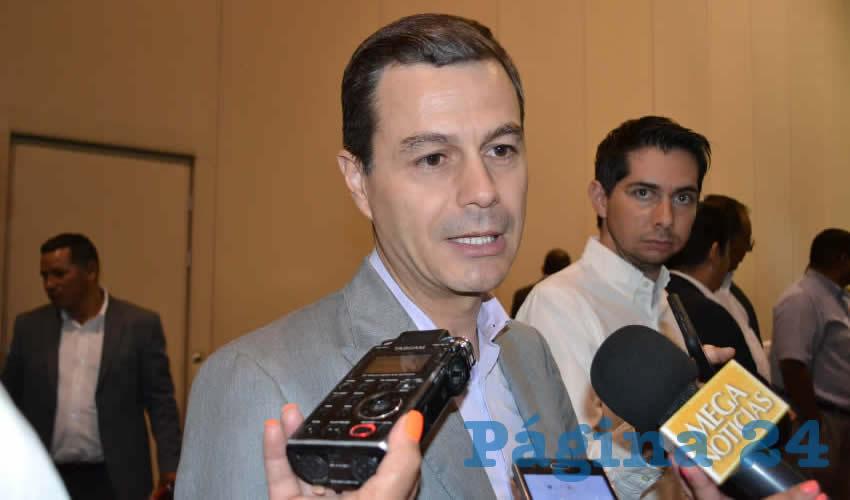 Francisco Javier Martínez Muñoz, director del Instituto de Seguridad y Servicios Sociales de los Trabajadores del Estado de Zacatecas (Issstezac) (Foto Merari Martínez)