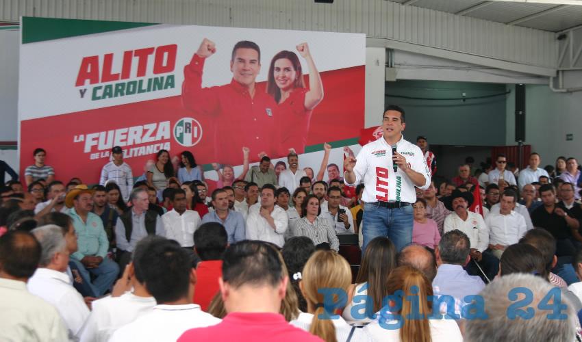 """""""Alito"""" se Promociona Como Candidato a Presidir el PRI"""