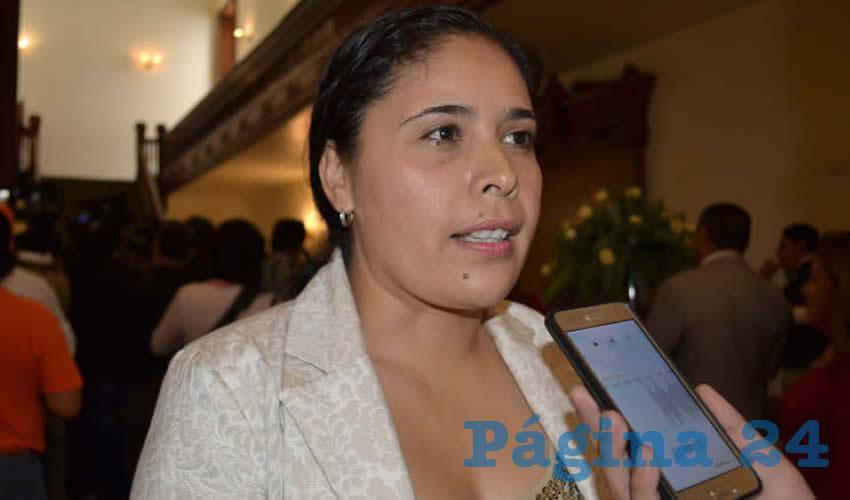 Alma Dávila Luévano (Foto: Merari Martínez)