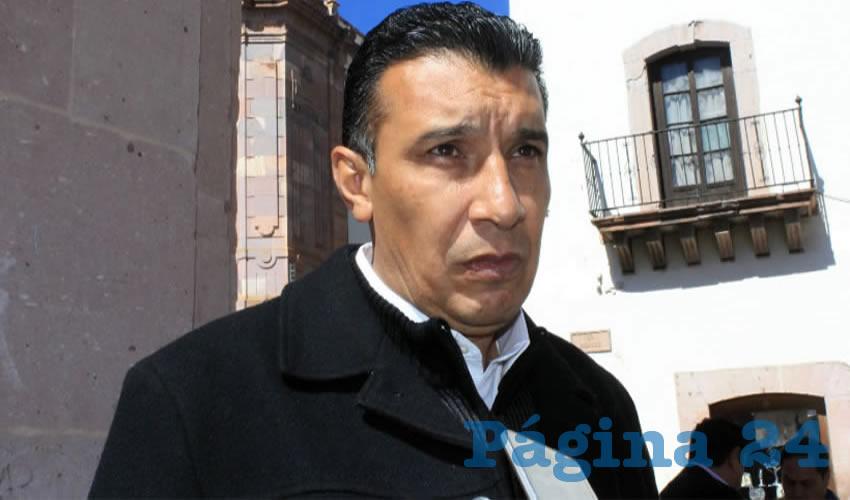 Adolfo Márquez Vera, director del Instituto de Cultura Física y Deporte del Estado de Zacatecas (Incufidez)