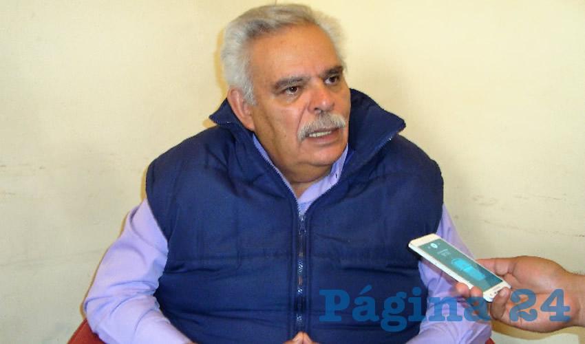 José Luis Medina Lizalde, exdiputado local e integrante del partido político Movimiento de Regeneración Nacional (Morena)