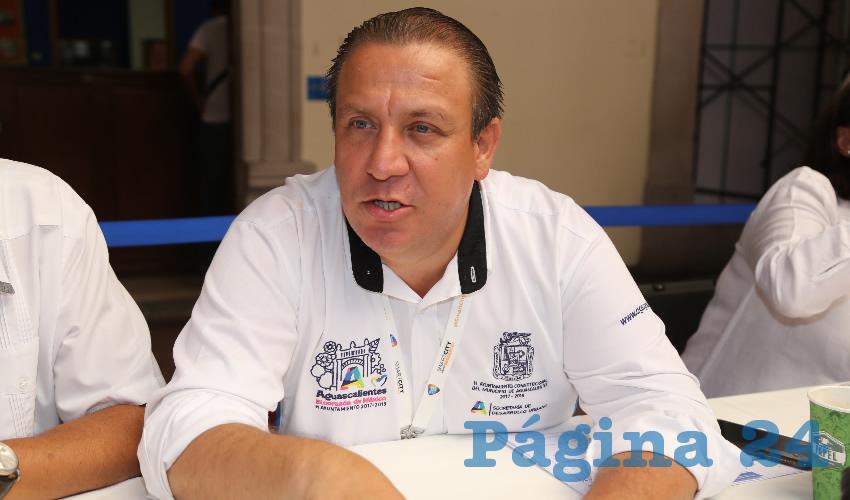 Jaime Gallo Camacho, director del Implan (Foto: Eddylberto Luévano Santillán)
