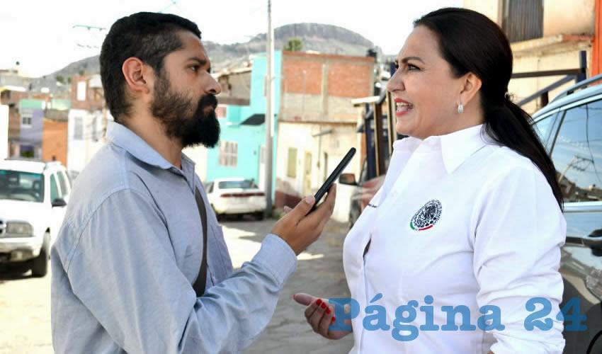 Mónica Borrego Estrada (Foto: Merari Martínez)