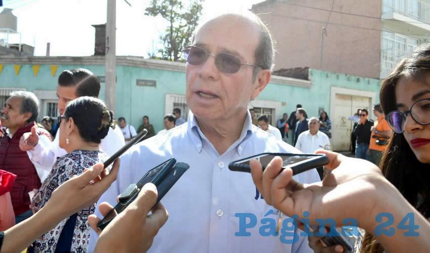Benjamín de León Mojarro, titular de la Junta Intermunicipal de Agua Potable y Alcantarillado de Zacatecas (Jiapaz) (Foto Merari Martínez)