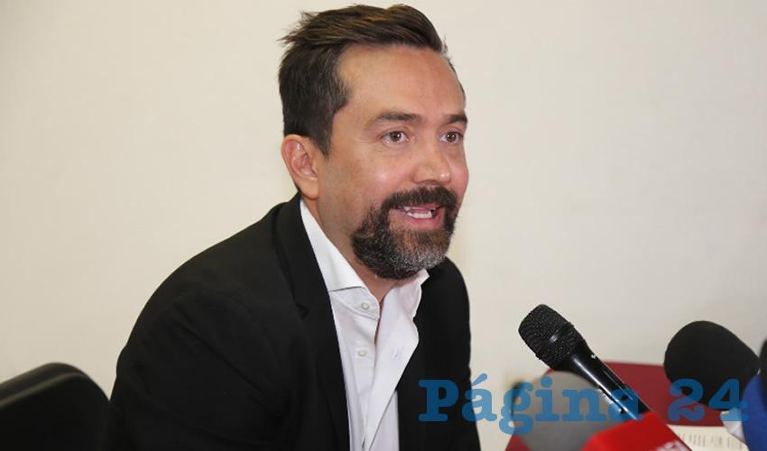 Arturo Ávila Anaya asegura que la multa del INE puede que no proceda y no se pague (Foto Eddylberto Luévano Santillán)