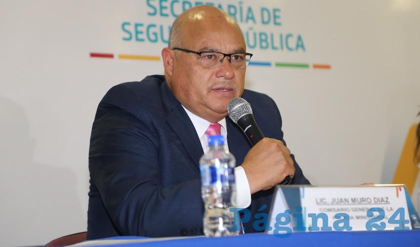 Juan Muro Díaz, titular de la Policía Ministerial (Foto: Eddylberto Luévano Santillán)