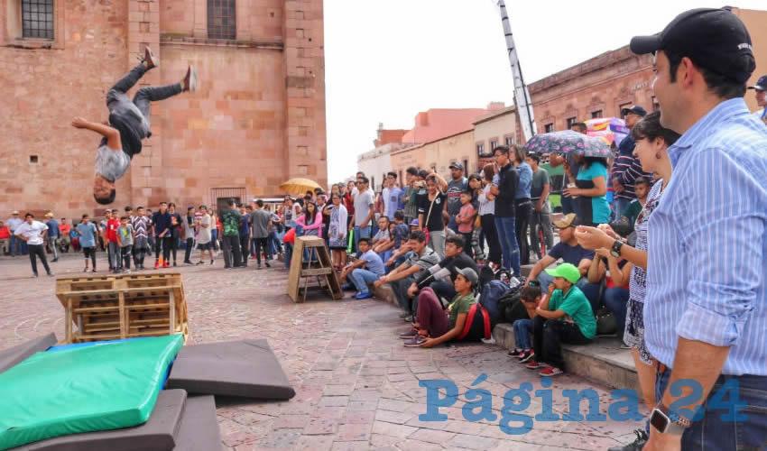 Ayuntamiento de Zacatecas Celebra Arte Urbano y Disciplinas Deportivas