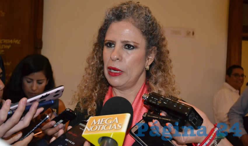 Paula Rey Ortiz Medina, titular de la Secretaría de la Función Pública (SFP) (Foto Merari Martínez)