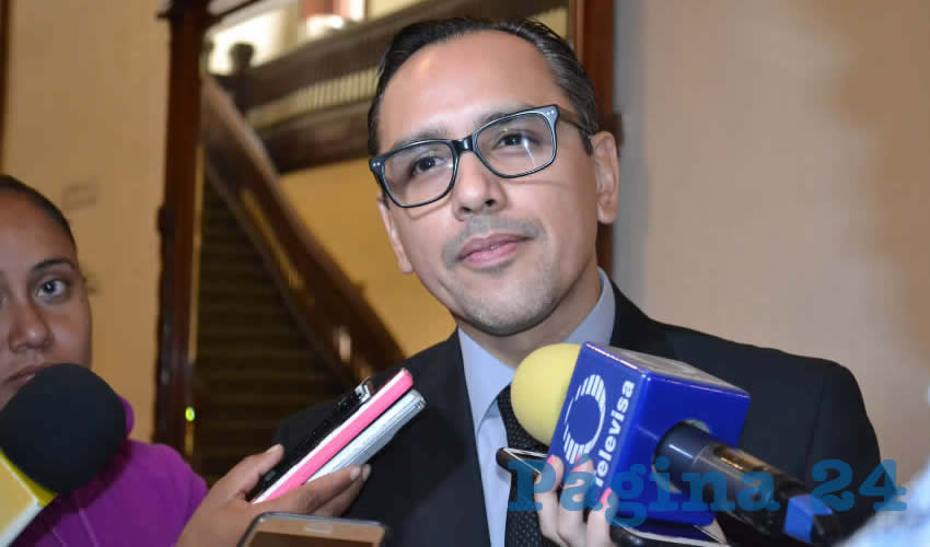 Salvador Villa Almaraz, fiscal especializado en anticorrupción (Foto: Merari Martínez)