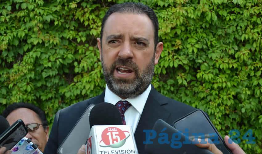 Alejandro Tello Cristerna, gobernador de Zacatecas (Foto: Merari Martínez/Archivo/Página 24 Zacatecas)