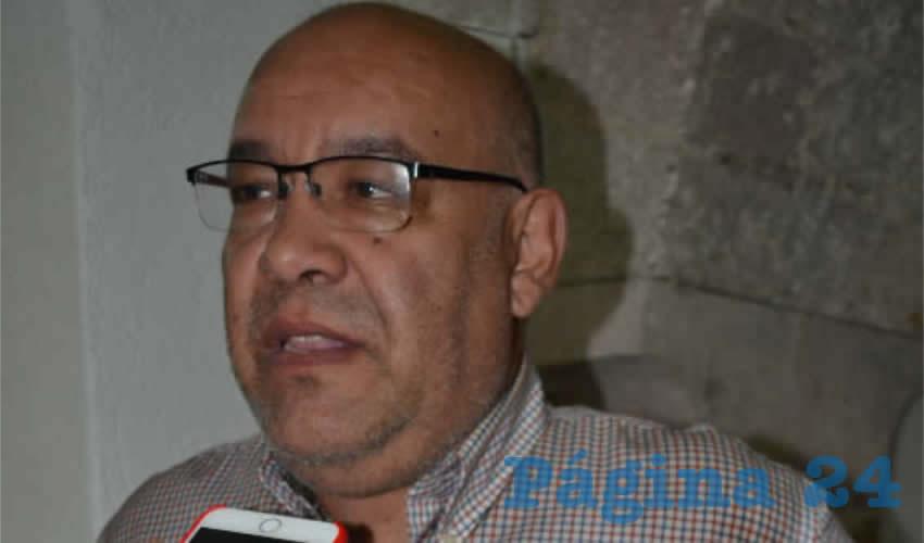 Carlos García Murillo (Foto Merari Martínez)