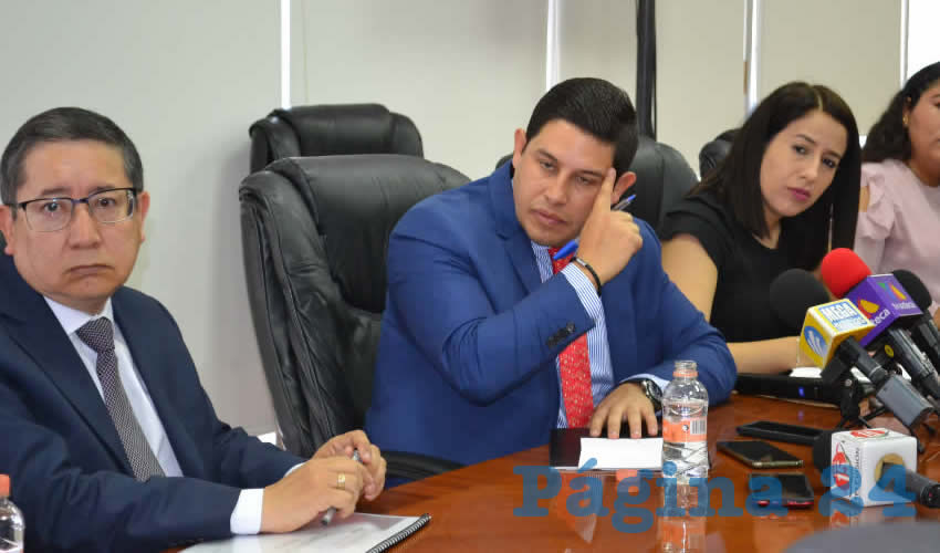 Jorge Miranda Castro, titular de la Secretaría de Finanzas (Sefin) (Foto: Merari Martínez)