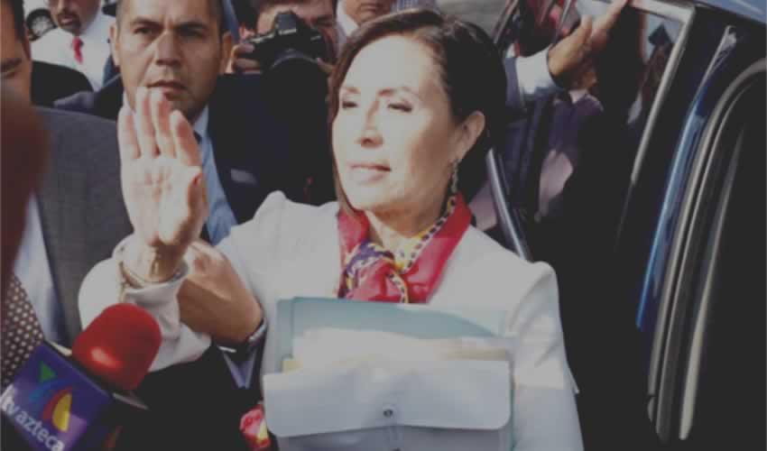 Rosario Robles, ex secretaria de Desarrollo Social y también ex titular de la Sedatu, en la continuación de audiencia en el Reclusorio Sur (Foto: Eduardo Miranda/Cuartoscuro)