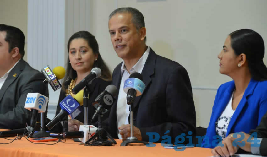 Rueda de prensa de José Antonio Arámbula López