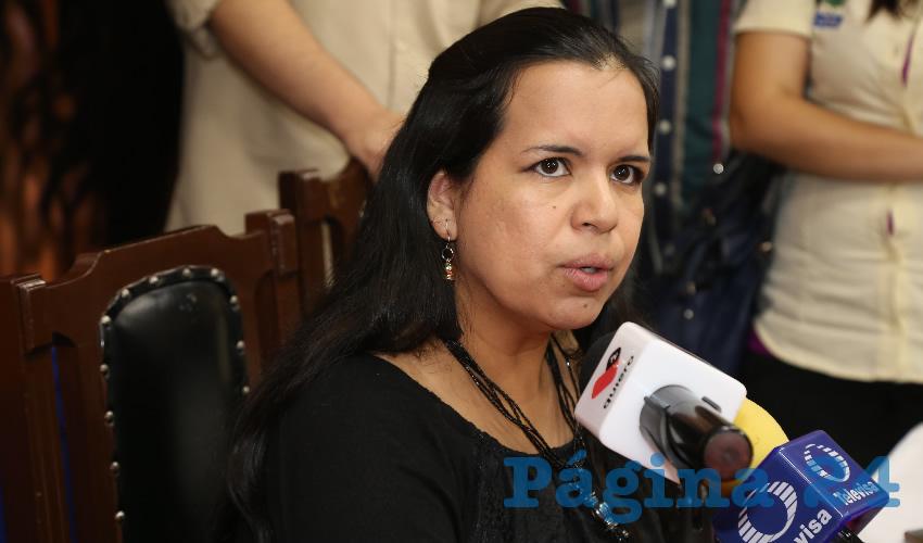 Violeta Sabás Díaz de León, coordinadora del OVSGA (Foto: Archivo)