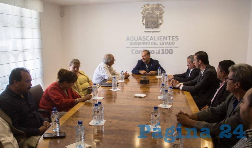 Torres Luévano Inició una serie de visitas a las diferentes dependencias y organismos del Gobierno del Estado, así como a las presidencias municipales