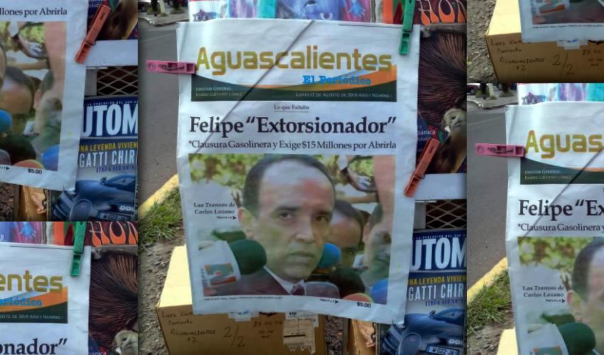 Ayer Aguascalientes despertó con un nuevo rotativo: Aguascalientes El Periódico
