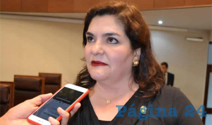 María Navidad de Jesús Rayas Ochoa, diputada local