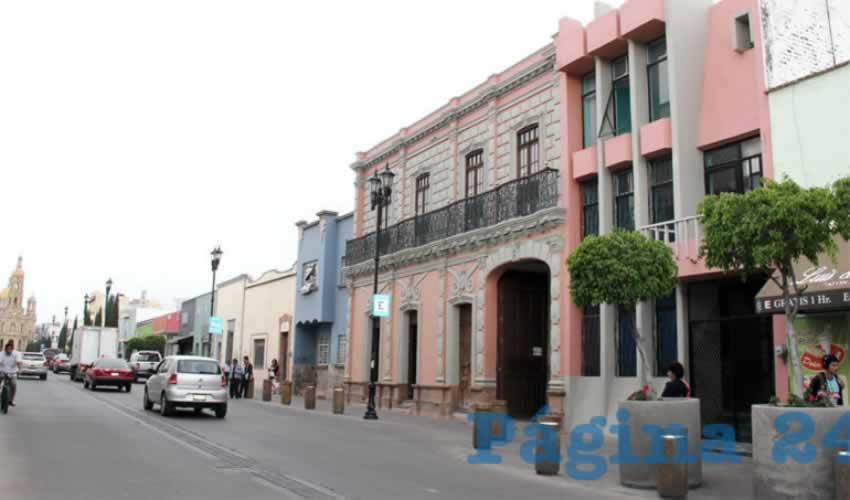 Edificio del Diario Página 24, Aguascalientes