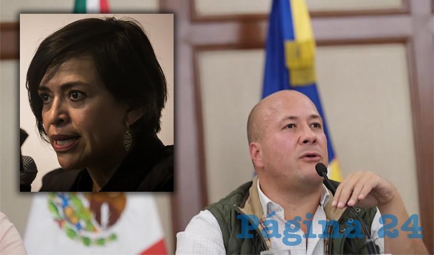No soy narco, protesta el gobernador E. Alfaro