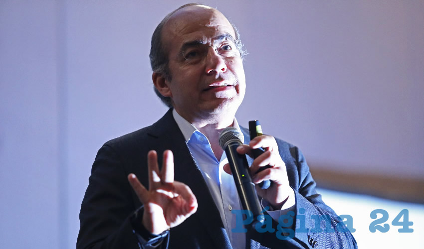 "Calderón Descalifica Estrategia de ""Abrazos, no Balazos"""