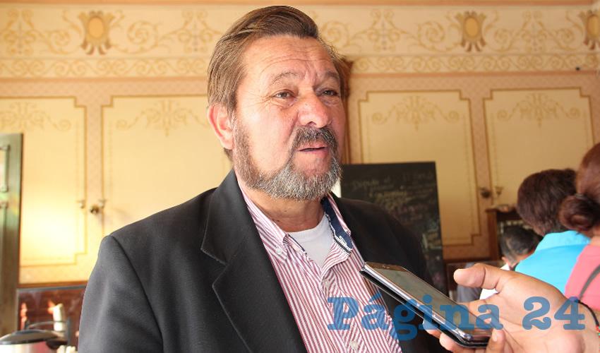 Samuel Herrera Chávez, diputado federal por Zacatecas integrante de Movimiento de Regeneración Nacional (Morena) (Foto Rocío Castro Alvarado)