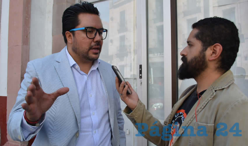 Omar Carrera Pérez, diputado local por Movimiento Regeneración Nacional (Foto: Merari Martínez)