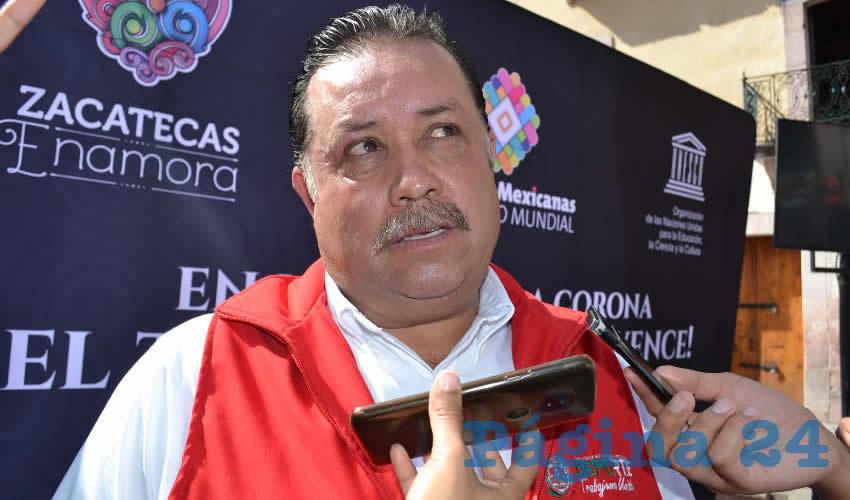 Octavio Campos Ávila, director de Desarrollo del Deporte en el Instituto de Cultura Física y Deporte del Estado (Foto: Merari Martínez)